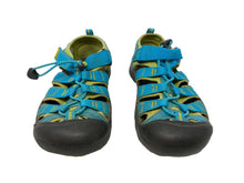 Load image into Gallery viewer, Keen Sandals, Blue/Green, Kids 3