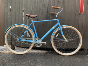 Sole Single Speed Bike, Blue