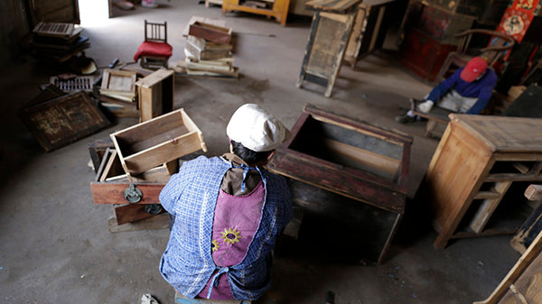 Chinese Furniture Restoration Workshop