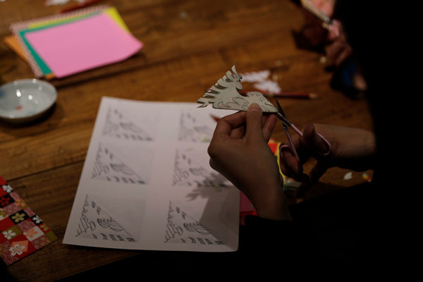 Pictures From Our Chinese Papercutting Workshop Rouge