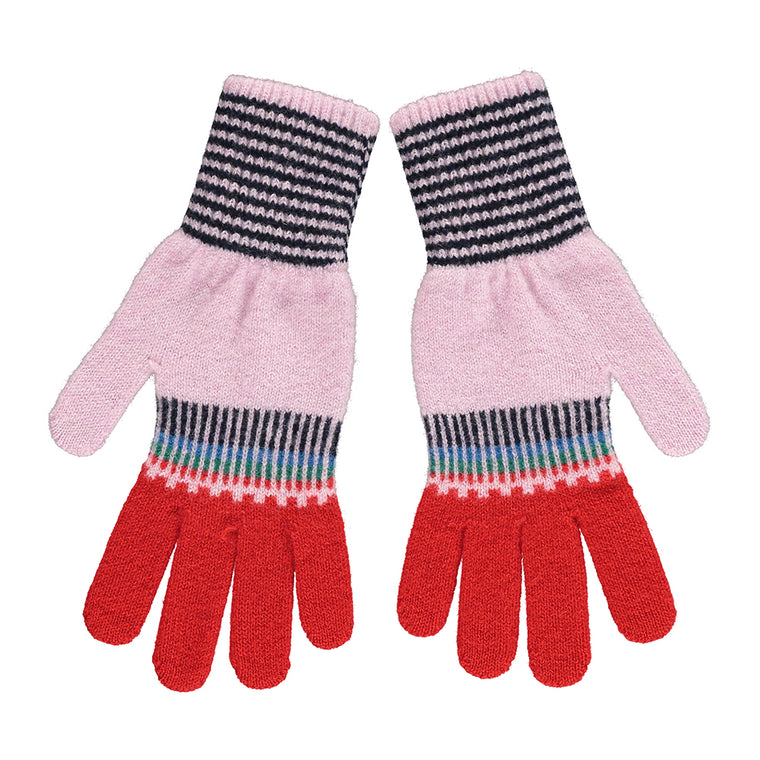 Fade Out Gloves - Sporty Pink