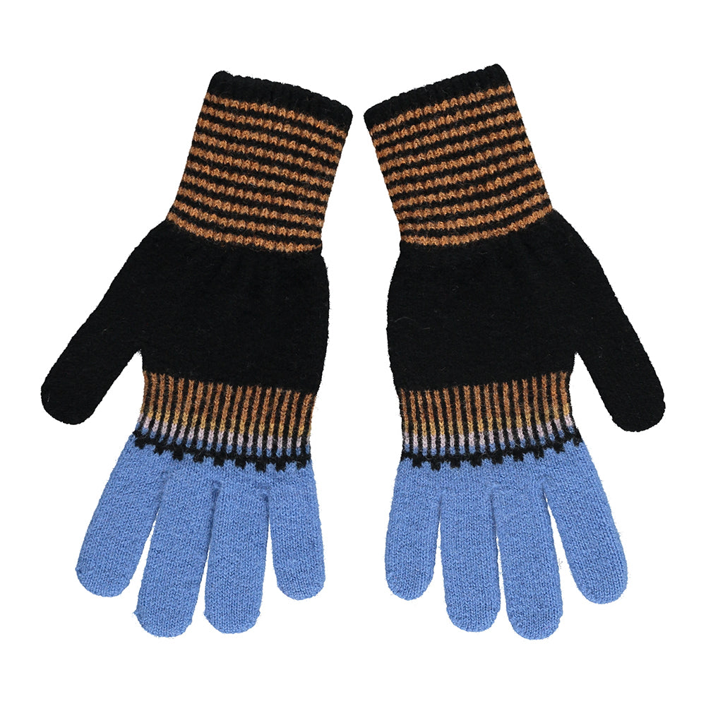 Fade Out Gloves - Earth Blue