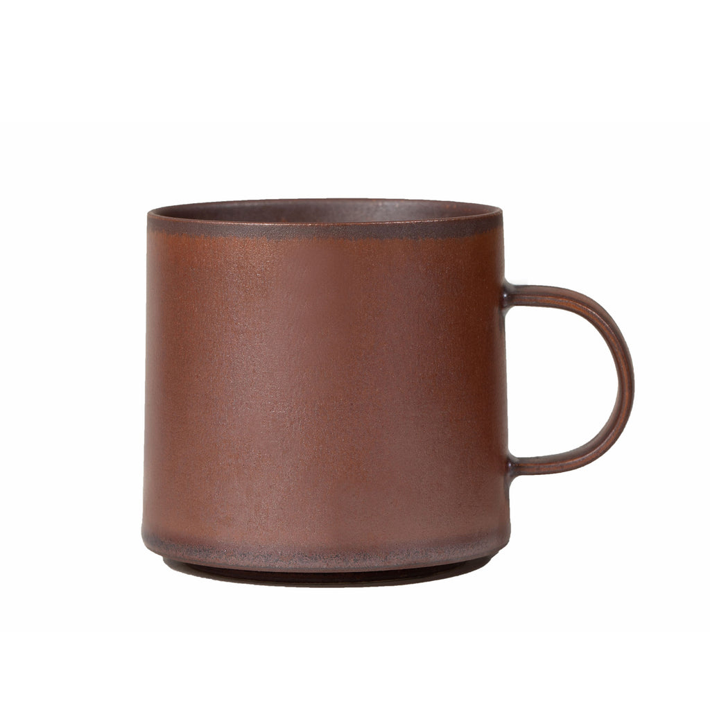 Red Clay and Metallic Cup 601