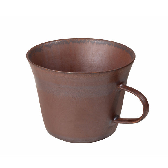 Red Clay and Metallic Cup 703