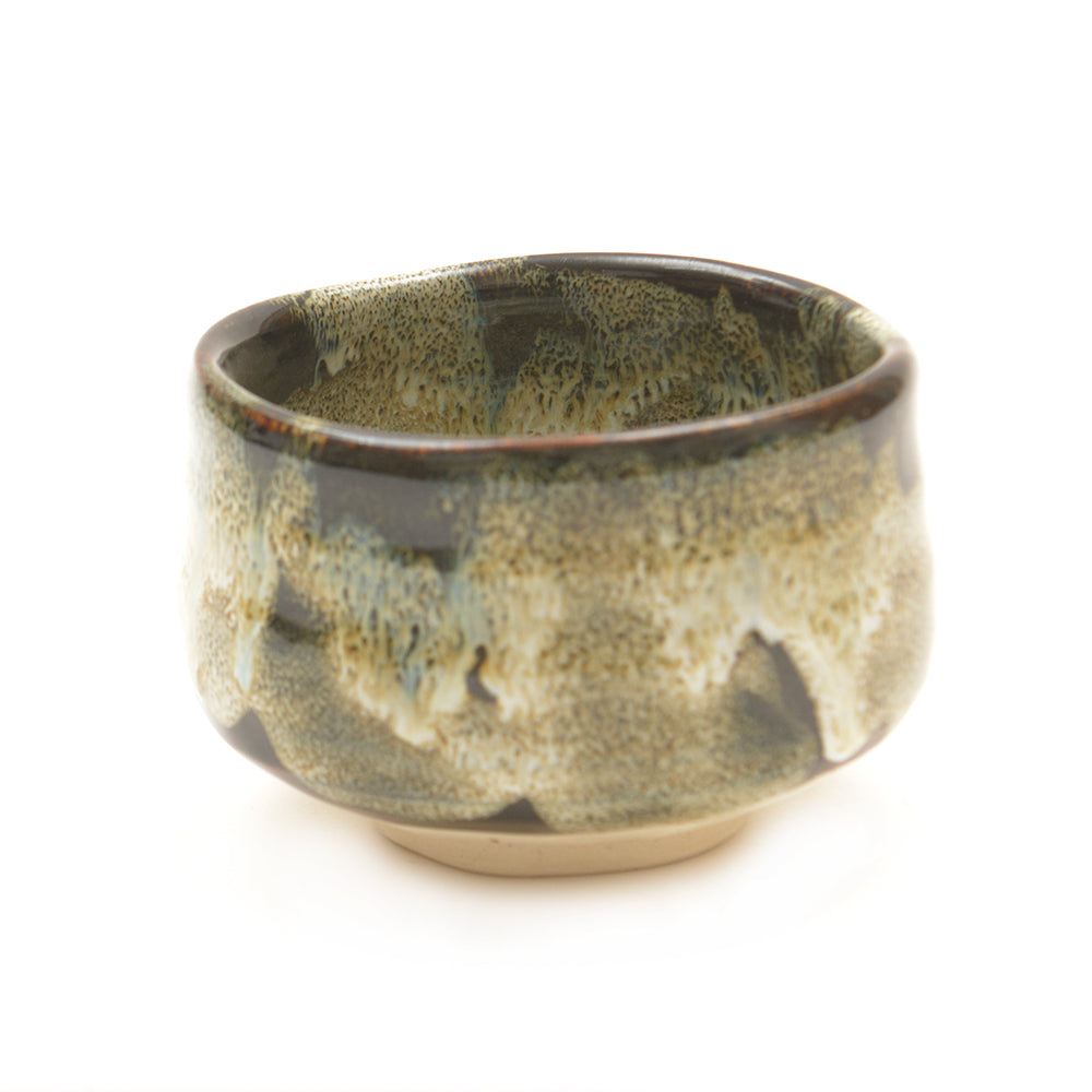 Black Speckled Japanese Matcha Tea Bowl - Chinese homewares- Rouge Shop antique stores London - city furniture