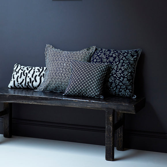 Black Rustic Contemporary Chinese Wooden Bench - Chinese homewares- Rouge Shop antique stores London - city furniture