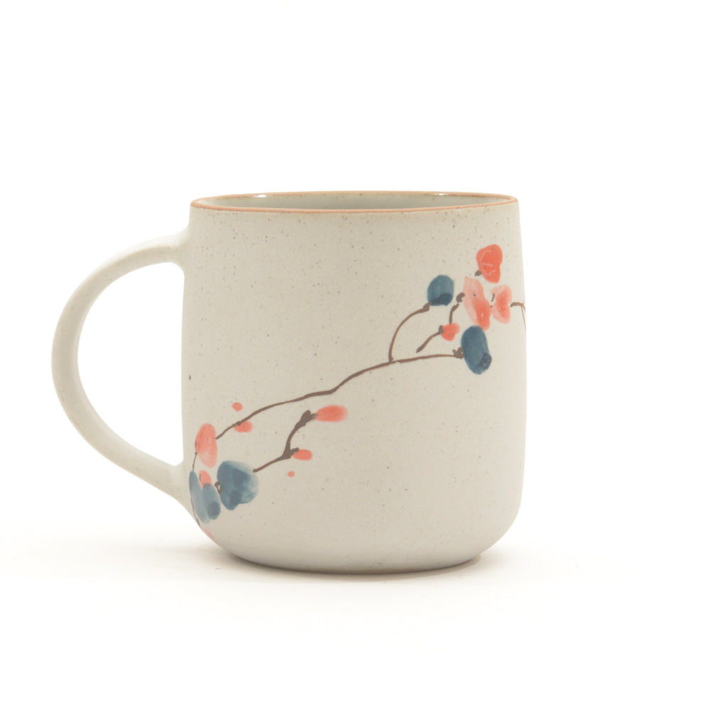 Blossom Branch Mug 004 - Chinese homewares- Rouge Shop antique stores London - city furniture