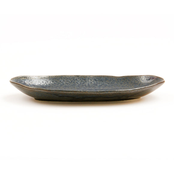 Blue Oribe Glaze Plate - Chinese homewares- Rouge Shop antique stores London - city furniture