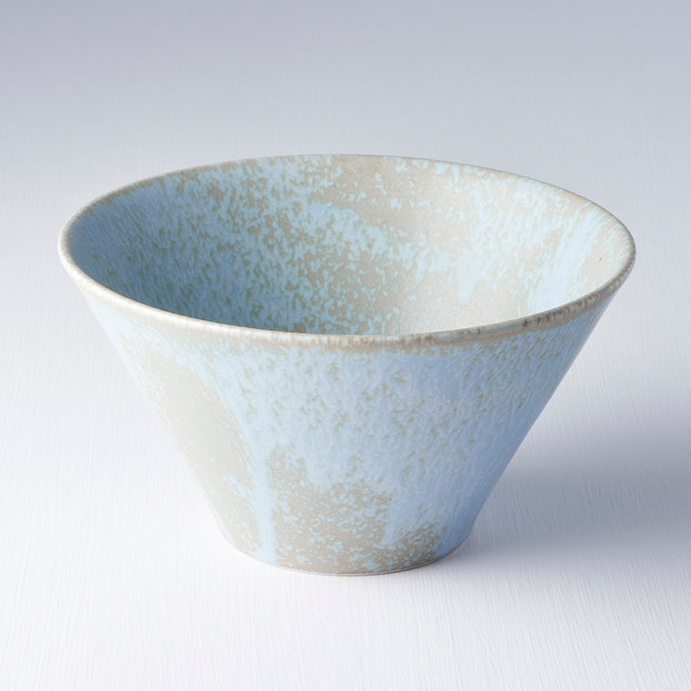Blue V Shape Bowl