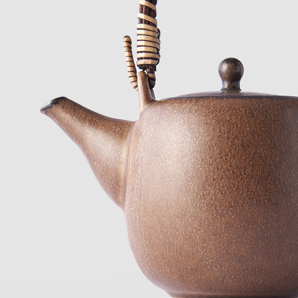 Cocoa Brown Teapot