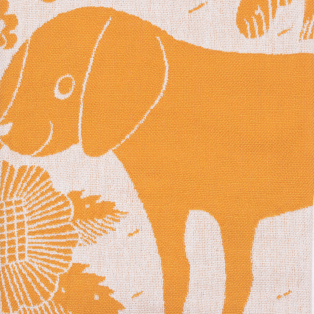 Koira Dog and Cat Tea Towel from Lapuan - Cloudberry and White - Chinese homewares- Rouge Shop antique stores London - city furniture