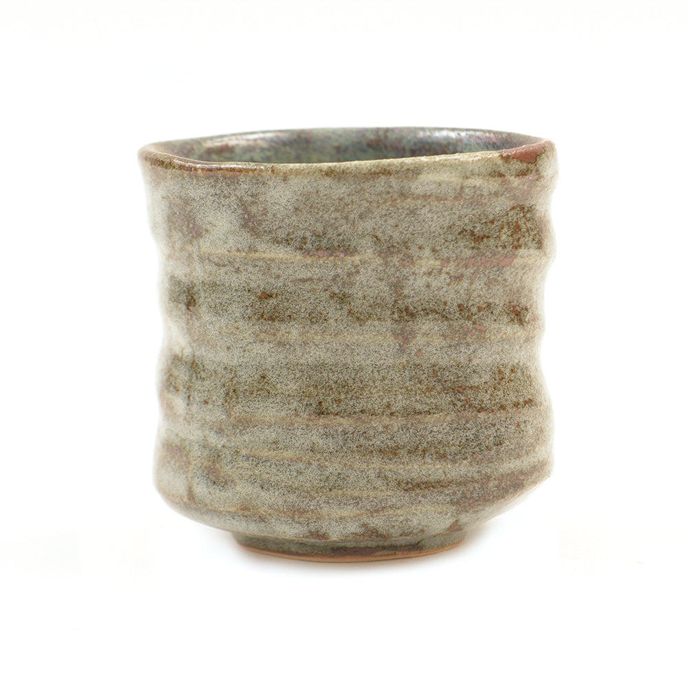 Handmade Japanese Cylindrical Matcha Tea Bowl - Chinese homewares- Rouge Shop antique stores London - city furniture