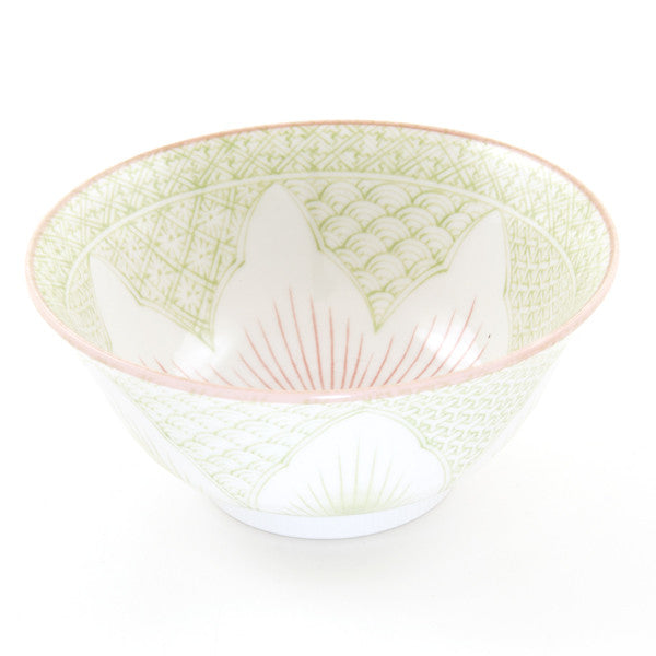 Porcelain Rice Bowl - Tayo Lotus - Chinese homewares- Rouge Shop antique stores London - city furniture