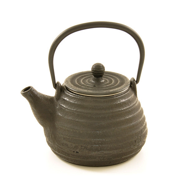 Black Cast Iron Teapot – 0.5l - Chinese homewares- Rouge Shop antique stores London - city furniture