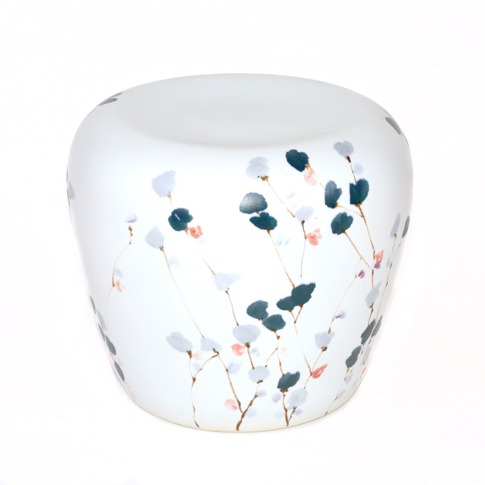 Ceramic Stool - Chinese homewares- Rouge Shop antique stores London - city furniture