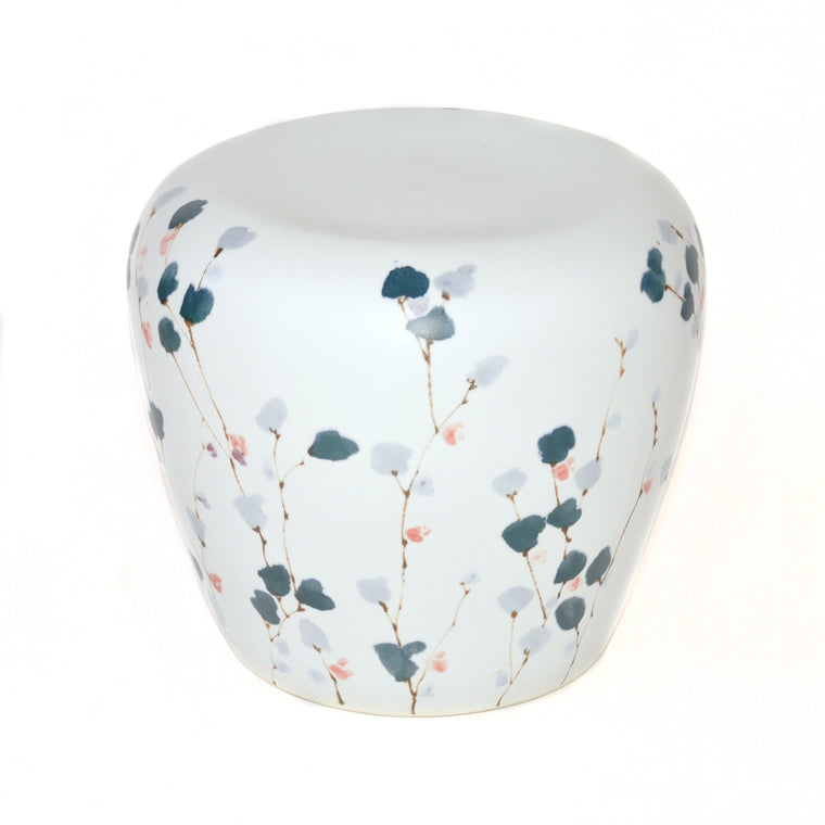 Chinese Porcelain Barrel Stool - Chinese homewares- Rouge Shop antique stores London - city furniture