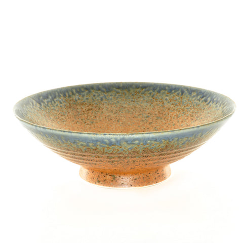 Rust and Blue Glaze Serving Bowl - Chinese homewares- Rouge Shop antique stores London - city furniture