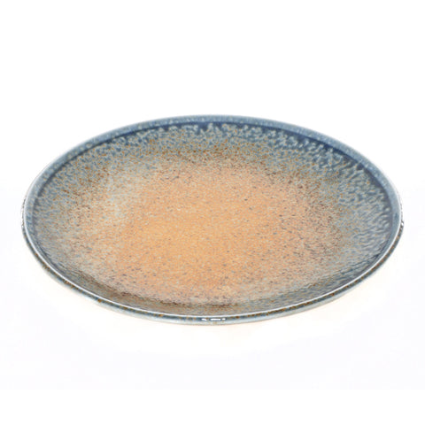 Rust and Blue Glaze Plate - Chinese homewares- Rouge Shop antique stores London - city furniture