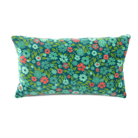 Cotton Velvet Cushion - Liberte Atlantic - Asian Inspired Furniture Accessories Cermaics - Rouge Shop