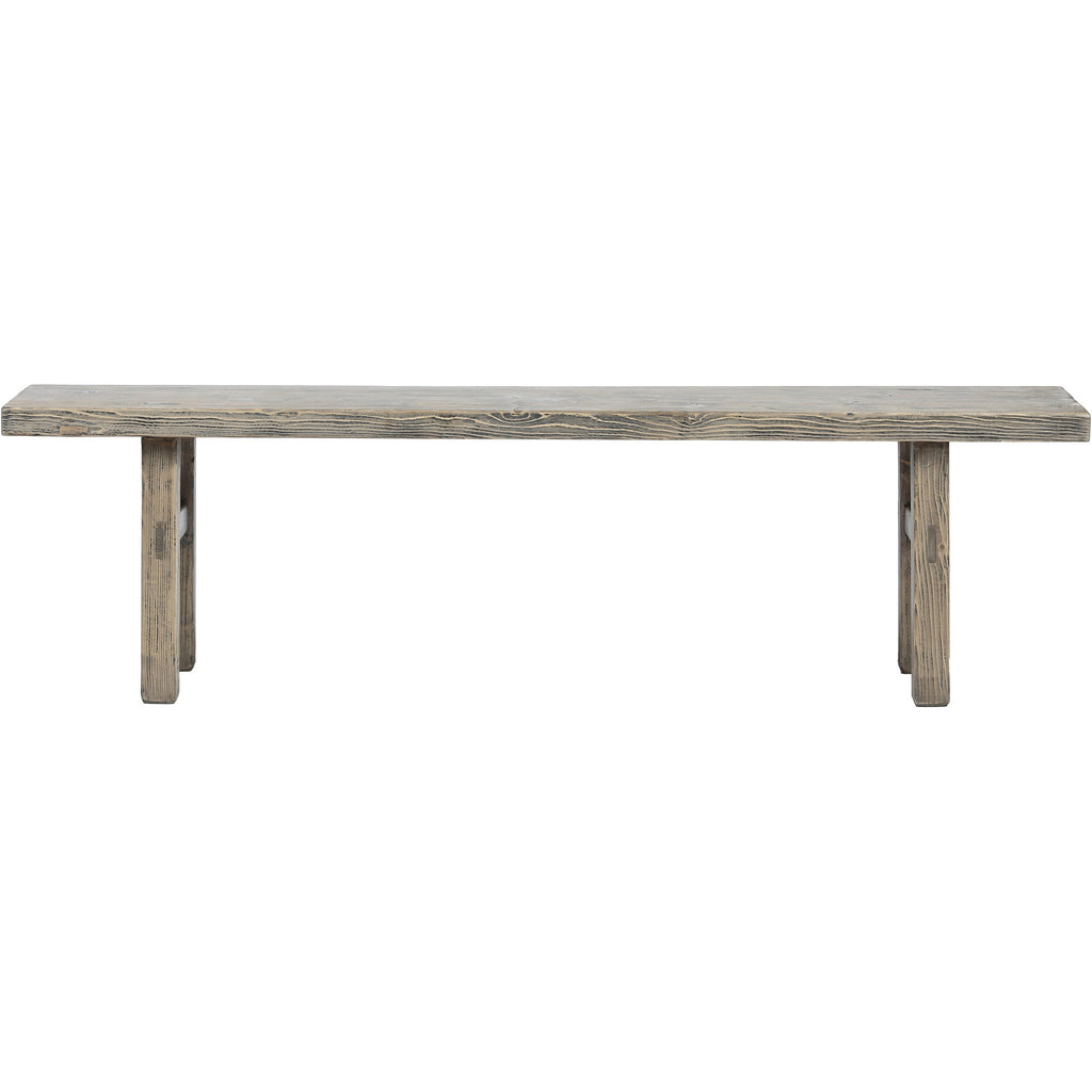 Contemporary Chinese Wooden Bench - Chinese homewares- Rouge Shop antique stores London - city furniture