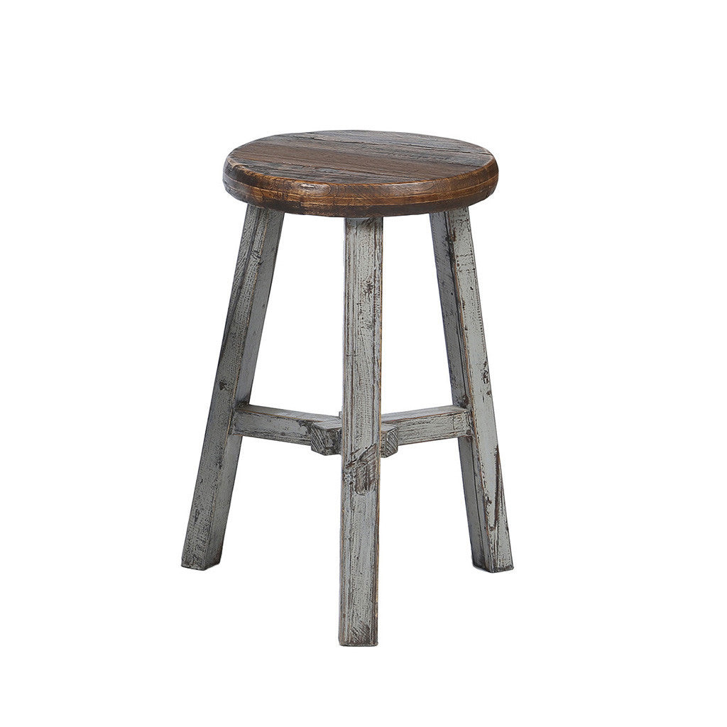 Round Chinese Stool - Chinese homewares- Rouge Shop antique stores London - city furniture