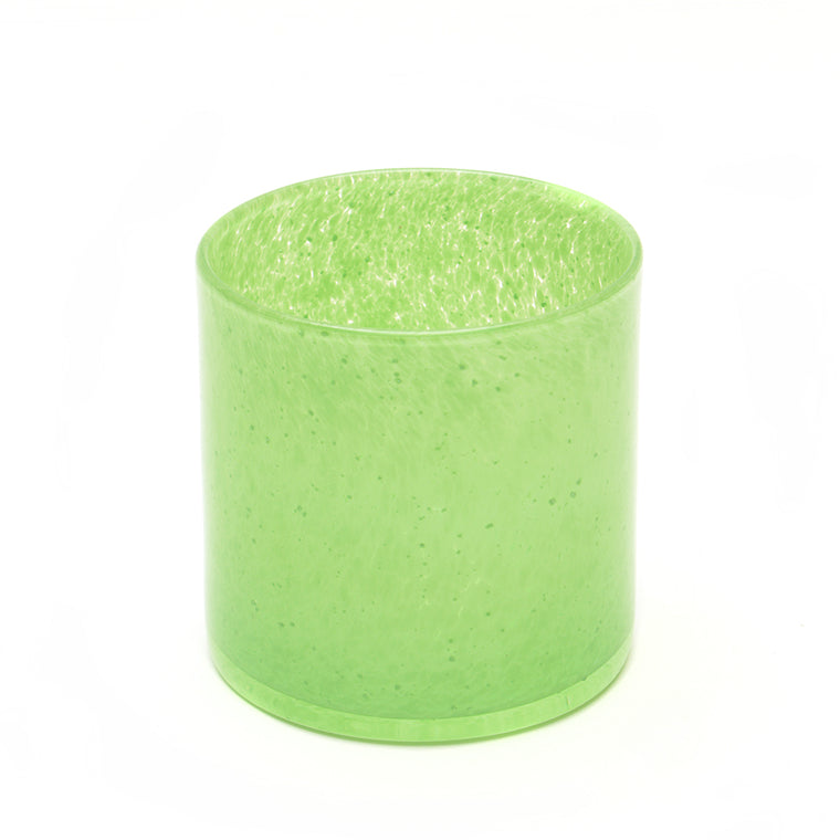Glass Tea Light Lantern - Fresh Green - Chinese homewares- Rouge Shop antique stores London - city furniture