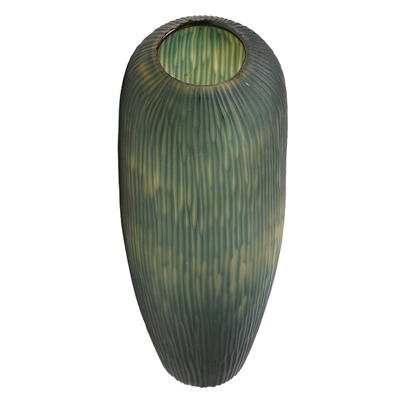 Green Seaweed Glass Vase – Tall - Chinese homewares- Rouge Shop antique stores London - city furniture