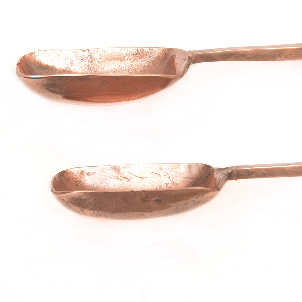 Hand Forged Salad Servers - Chinese homewares- Rouge Shop antique stores London - city furniture