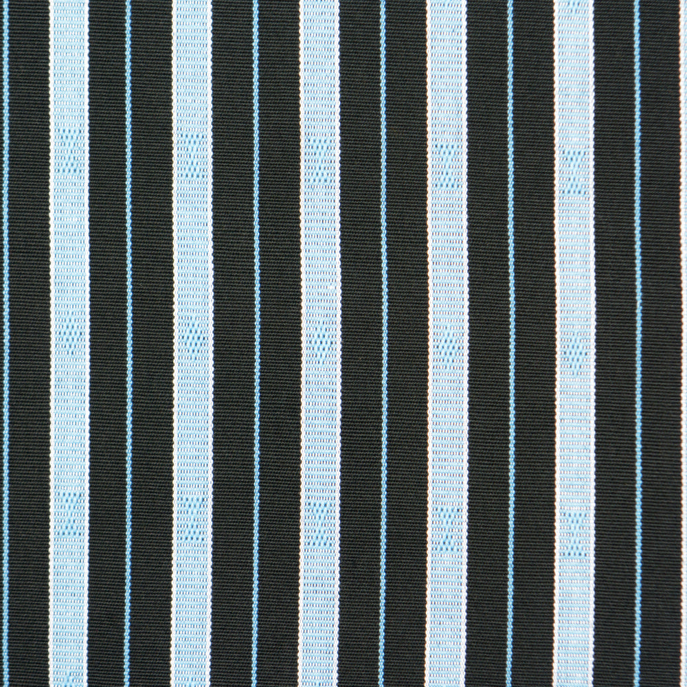 Striped Hand Woven Ifugao Pattern Cushion - Light Blue Stripes 50 x 50cm - Chinese homewares- Rouge Shop antique stores London - city furniture