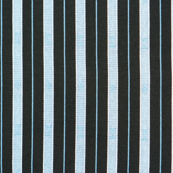 Hand Woven Ifugao Pattern Cushion - Light Blue Stripes 50 x 50cm - Chinese homewares- Rouge Shop antique stores London - city furniture