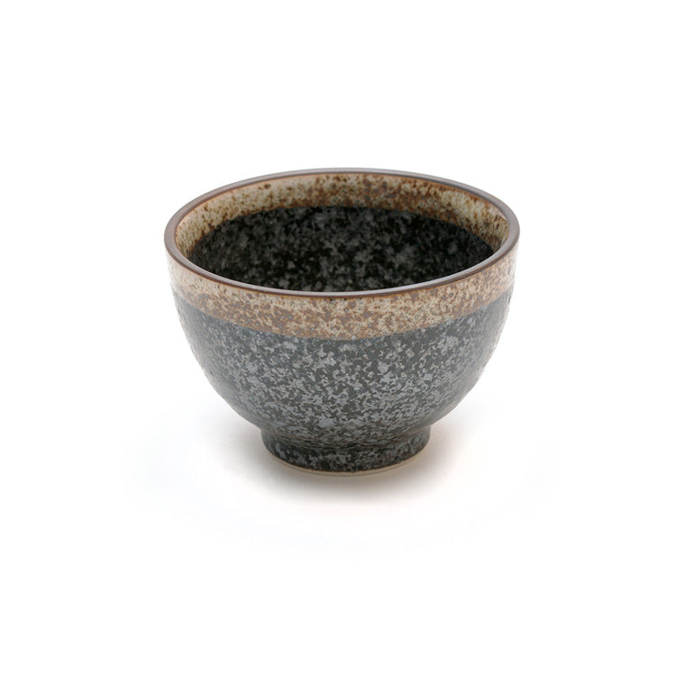 Japanese Black Kosui Glaze Teacup - Chinese homewares- Rouge Shop antique stores London - city furniture