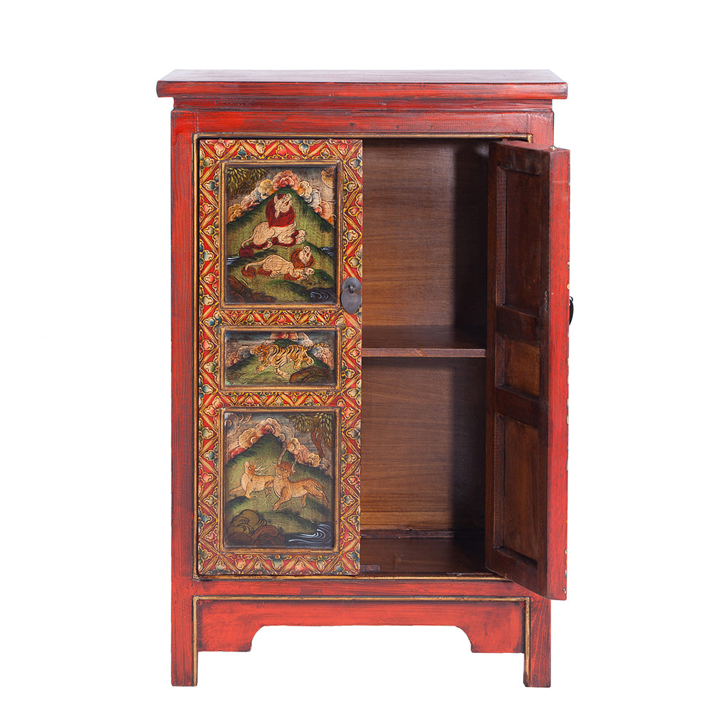 ... Small Tibetan Style Cabinet   Chinese Homewares  Rouge Shop Antique  Stores London   City Furniture