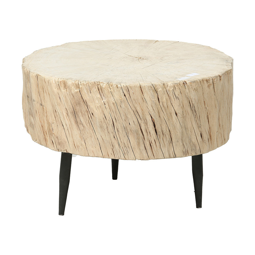 ROUGE Contemporary Chinese Tree Trunk Coffee Table