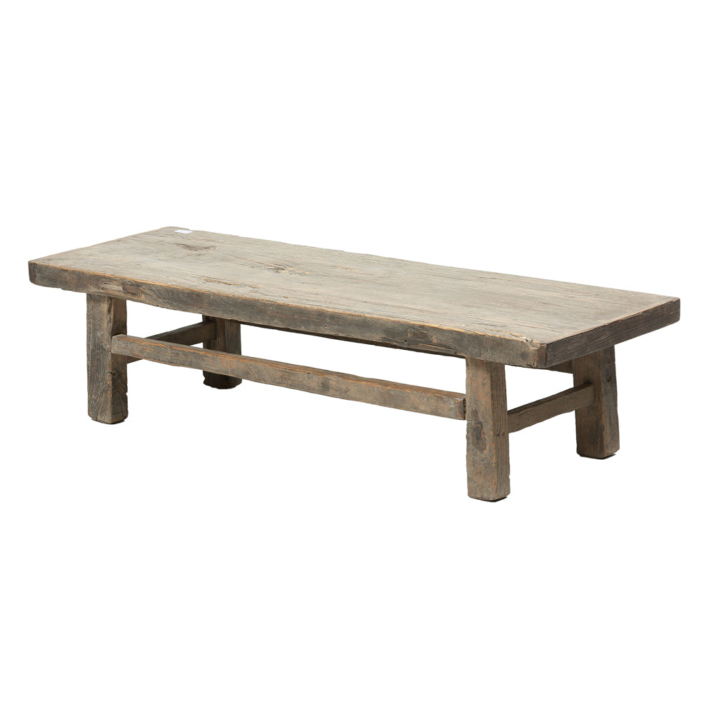 Contemporary Rustic Chinese Elm Coffee Table