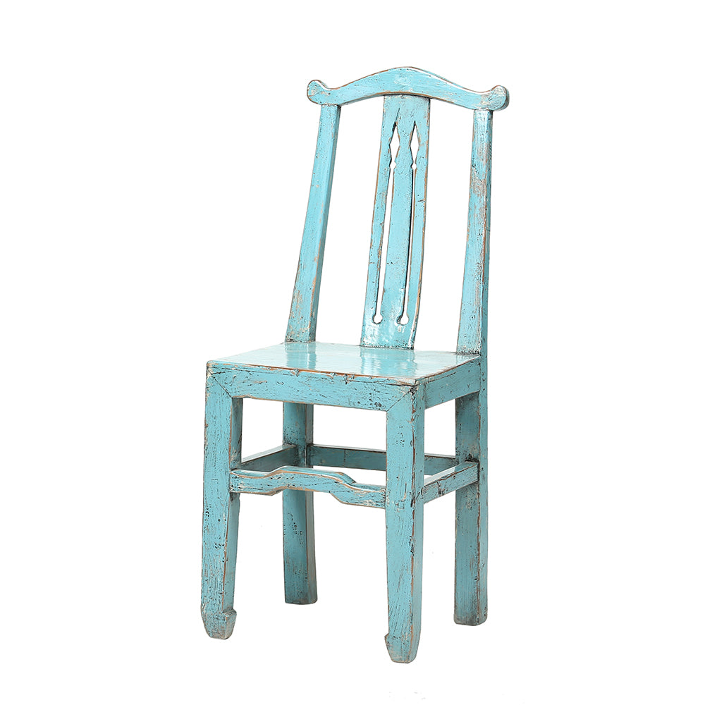 Contemporary Chinese Poplar Wood Chair - Chinese homewares- Rouge Shop antique stores London - city furniture