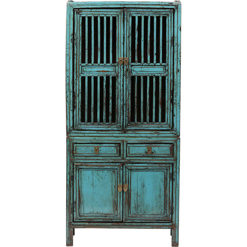 Vintage Chinese Kitchen Cupboard from Shanghai - Chinese homewares- Rouge Shop antique stores London - city furniture