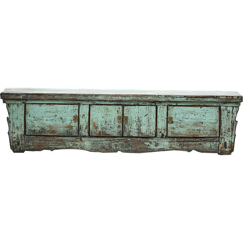 Low Light Blue Vintage Sideboard from Gansu - Chinese homewares- Rouge Shop antique stores London - city furniture