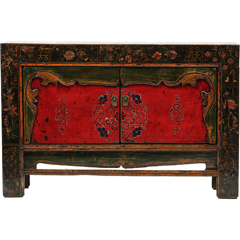 Medium Vintage Chinese Cabinet from Gansu - Chinese homewares- Rouge Shop antique stores London - city furniture