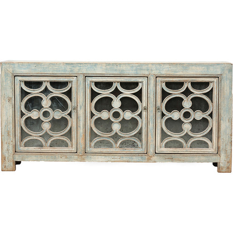 Ornamented Vintage Sideboard from Shandong - Asian Inspired Furniture Accessories Cermaics - Rouge Shop