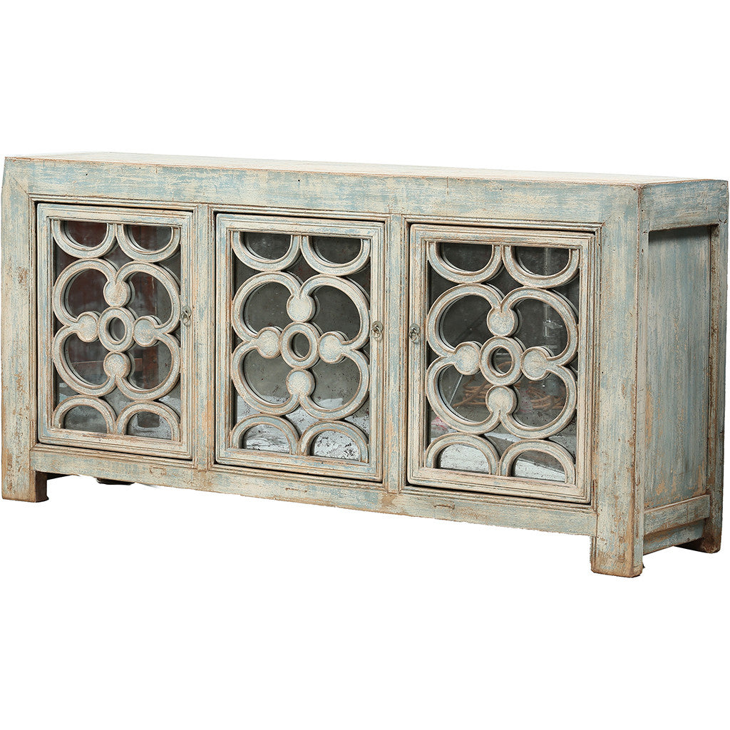 Ornamented Vintage Sideboard from Shandong - Chinese homewares- Rouge Shop antique stores London - city furniture