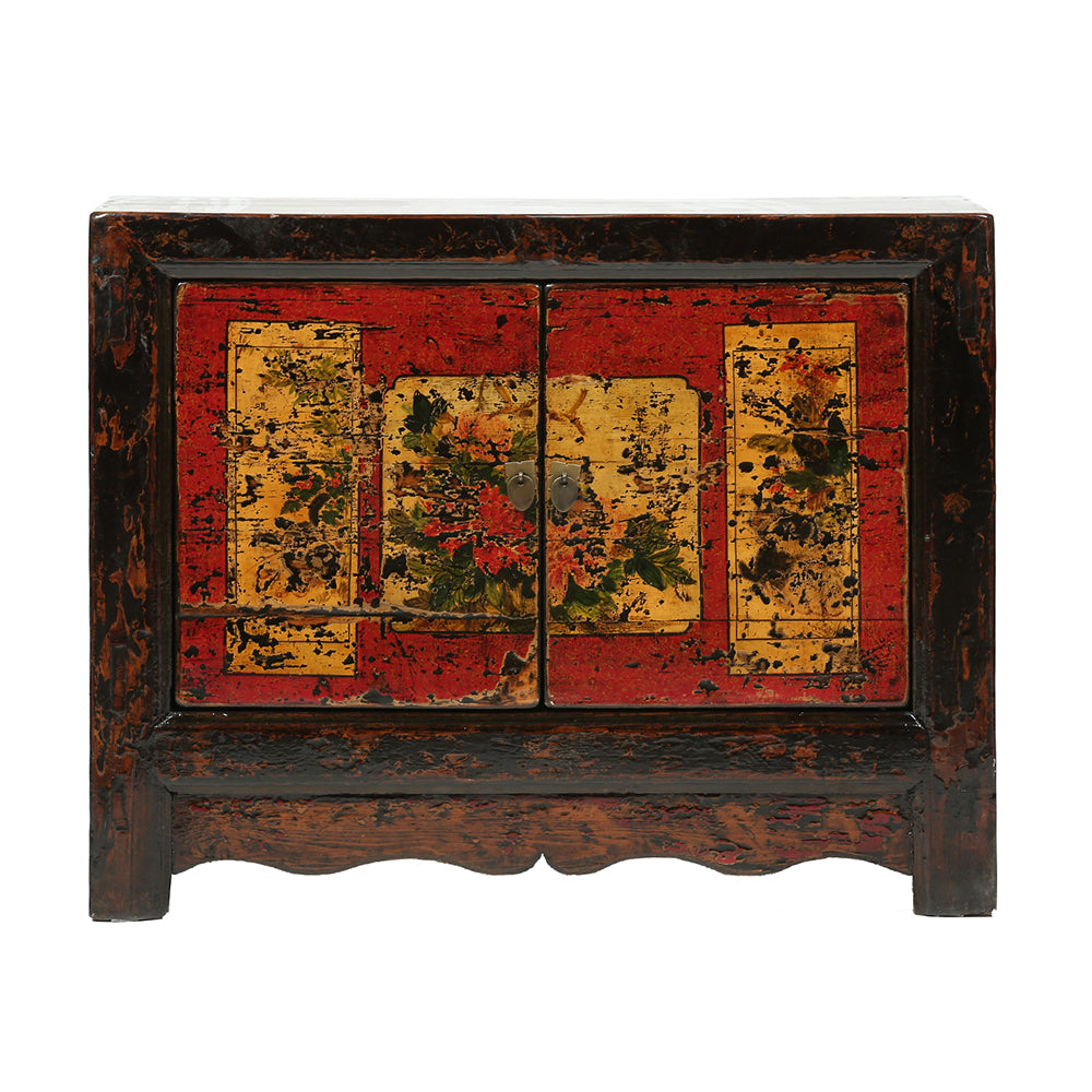 Vintage Chinese Cabinet from Gansu