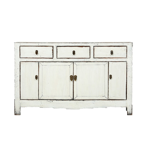White Vintage Sideboard from Tianjin