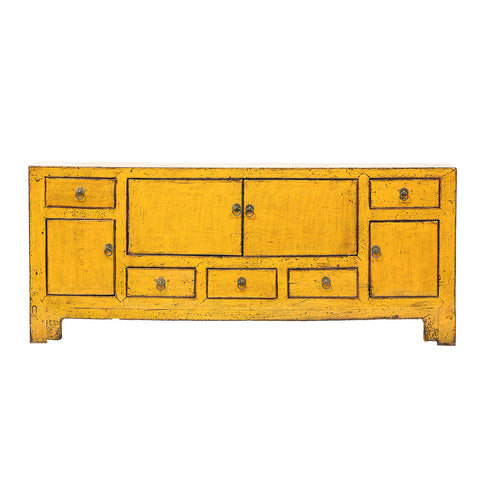 Yellow Vintage Sideboard from Tianjin