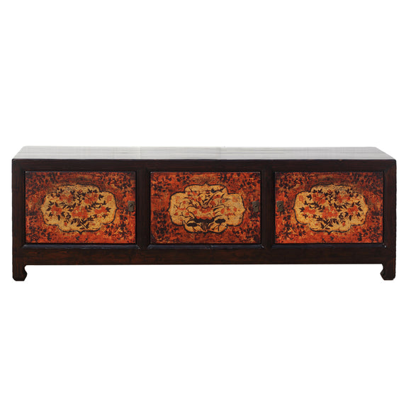 Shandong Style Sideboard with Floral Motifs