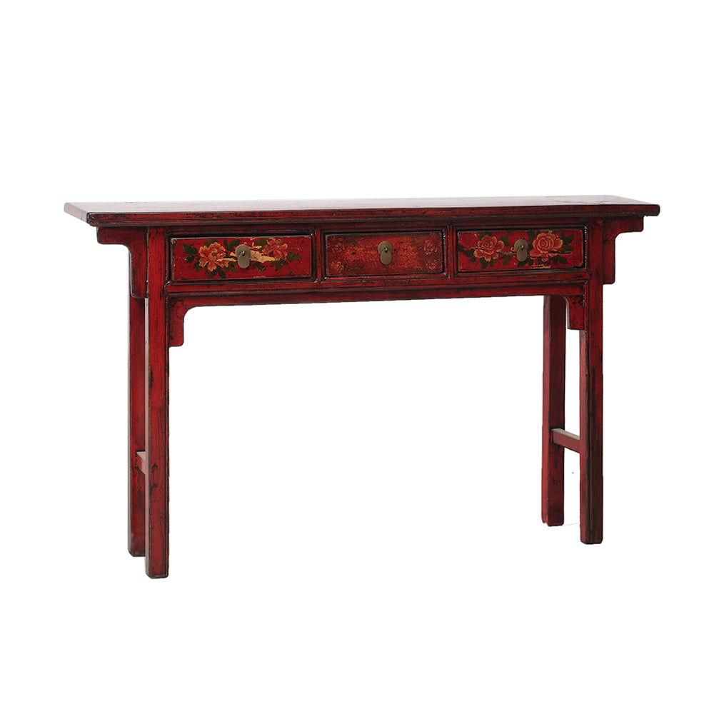 Vintage Chinese Console Table from Gansu - Chinese homewares- Rouge Shop antique stores London - city furniture