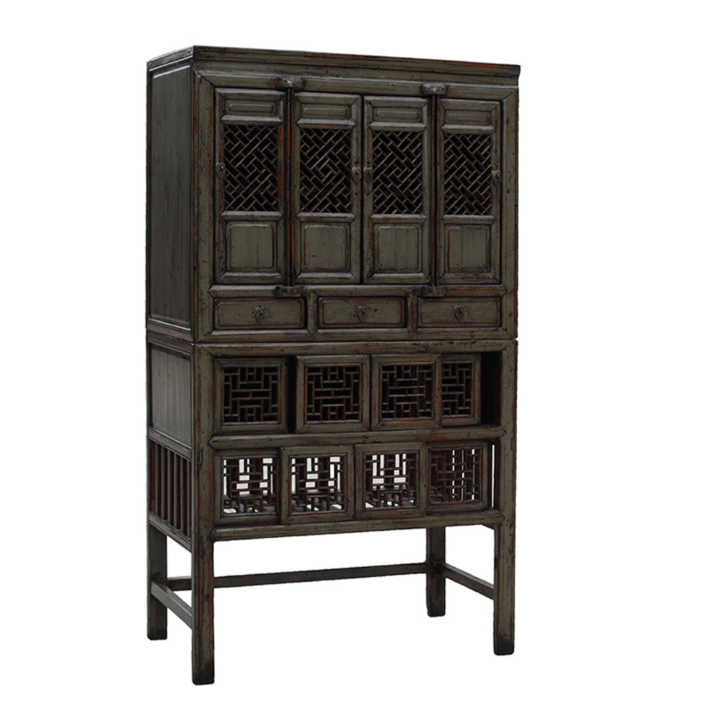 Vintage Chinese Kitchen Cabinet from NingBo - Chinese homewares- Rouge Shop antique stores London - city furniture