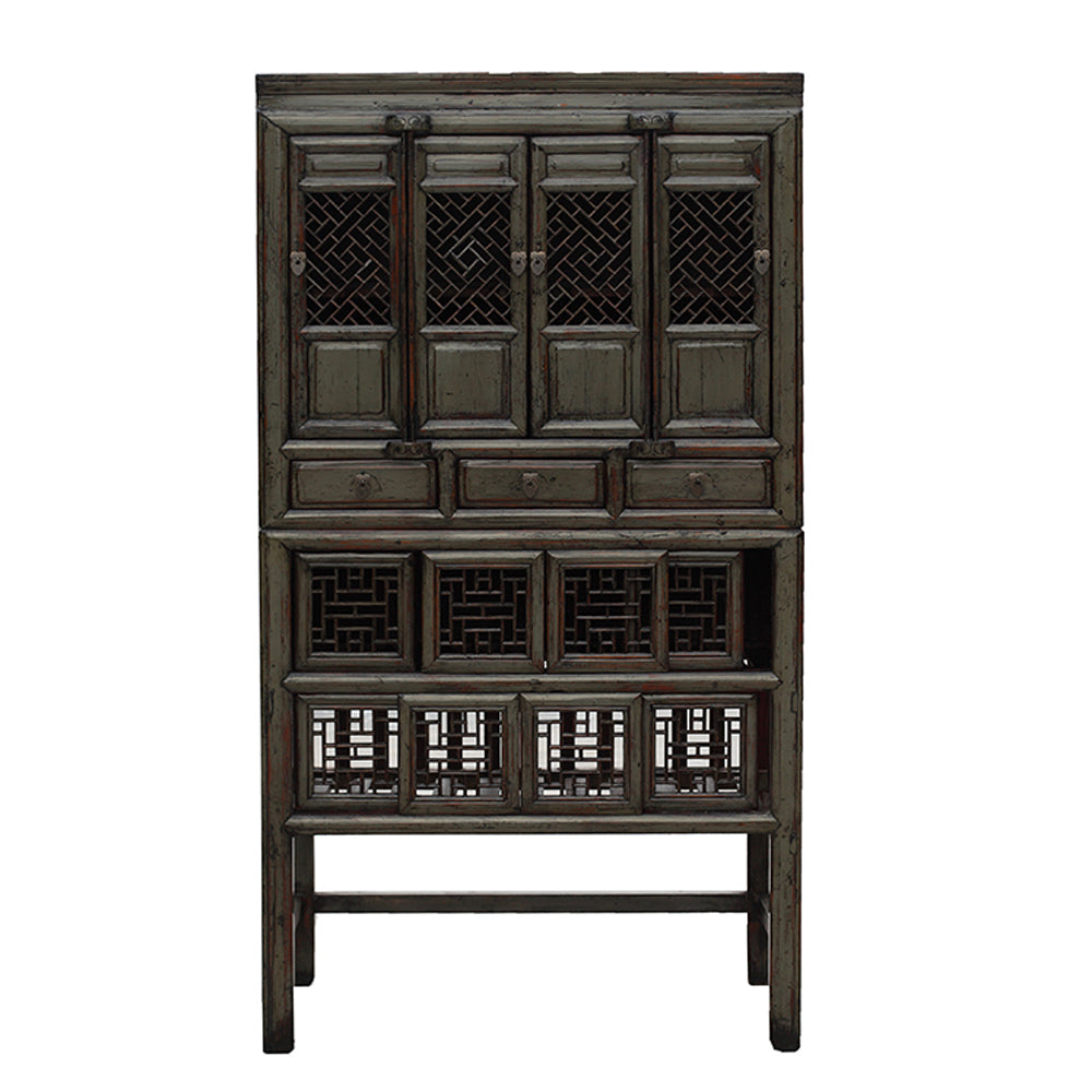 Vintage Chinese Kitchen Cabinet from NingBo