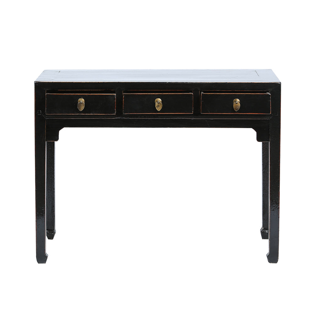 Black Vintage Chinese Desk from Shandong - Chinese homewares- Rouge Shop antique stores London - city furniture