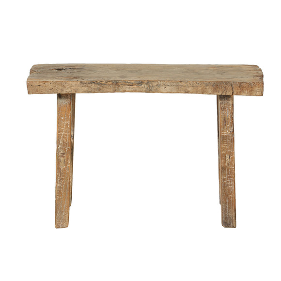 Chinese Reclaimed Elm Bench - Chinese homewares- Rouge Shop antique stores London - city furniture