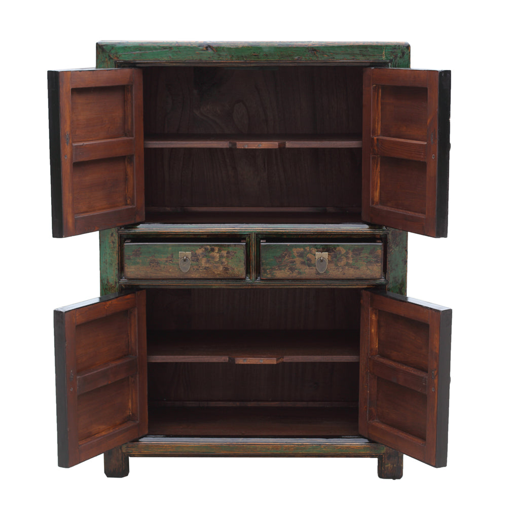 Shandong Style Pine Cabinet